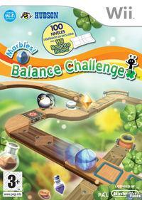 Portada oficial de Marbles! Balance Challenge para Wii