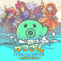 Portada oficial de Save me Mr Tako: Definitive Edition para Switch